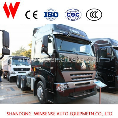 Cab HW 76 Tractor head for sale highway transporting with high quality