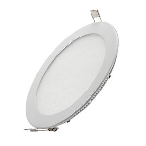 CE RoHs SASO 9W 12W 18W Ultra Slim Dimmable Round Flat LED Panel Light