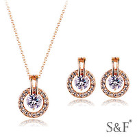 76624 Manufacturer gold filled jewelry set
