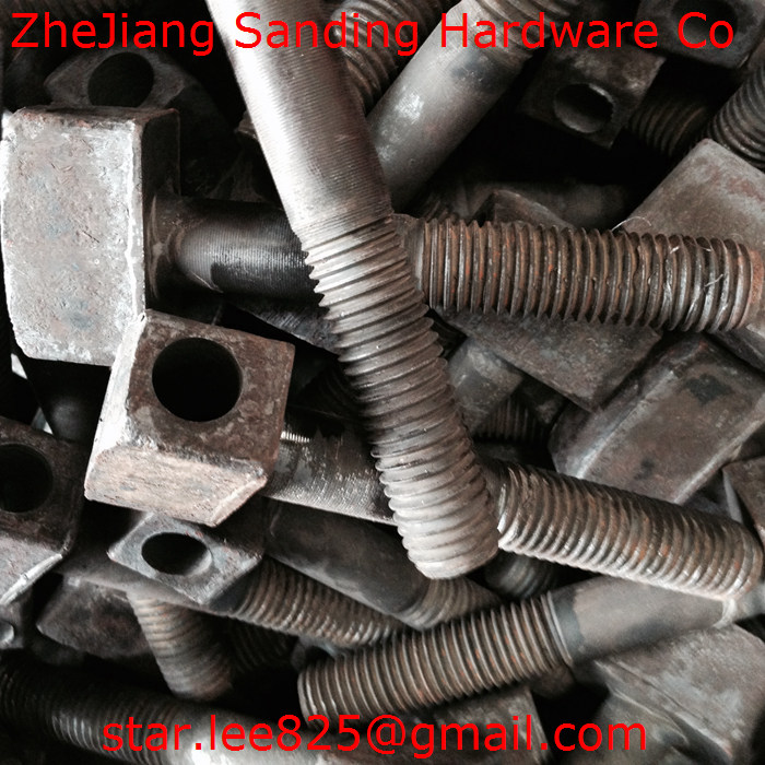 For Truck Carbon steel Gr5 zinc plated bolt/T head bolt