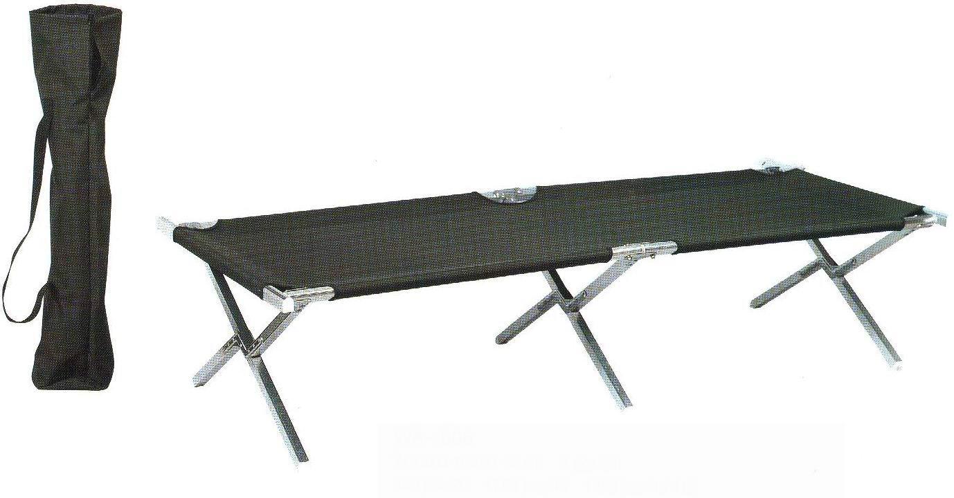 - Aluminum Folding Camp Bed