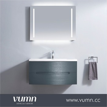 Popular European Style Plywood Bath Mirror Bathroom Vanity Unit/Acrylic  Bathroom Vanity Stool