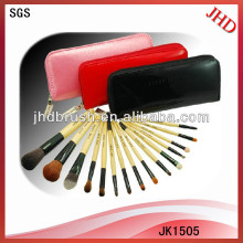 15pcs high quality beauty brush set for cosmetic tools
