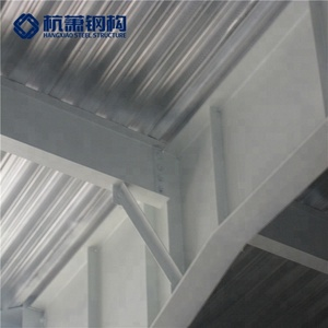 Two Storey Steel Dry Coal Storage Shed Structure Building Space Frame