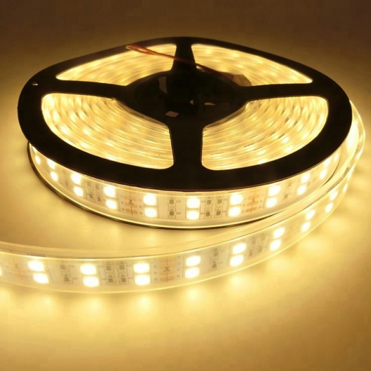Good quality 12v double row 5050 120 led per meter strips