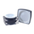 5g 10g 15g 30g 50g empty square black plastic jars for cosmetic eye face cream sample cosmetics packing wholesale