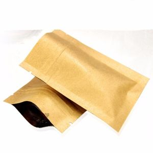 Factory direct sale low cost kraft paper bag with logo print -30