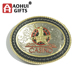 High end die casting custom size western engraved belt buckles