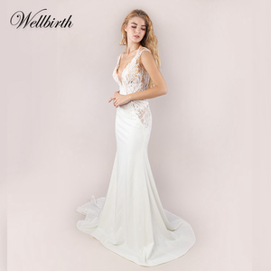 4a6fe887e761 Elegant Lace Wedding Dress, Elegant Lace Wedding Dress Suppliers and  Manufacturers at Alibaba.com