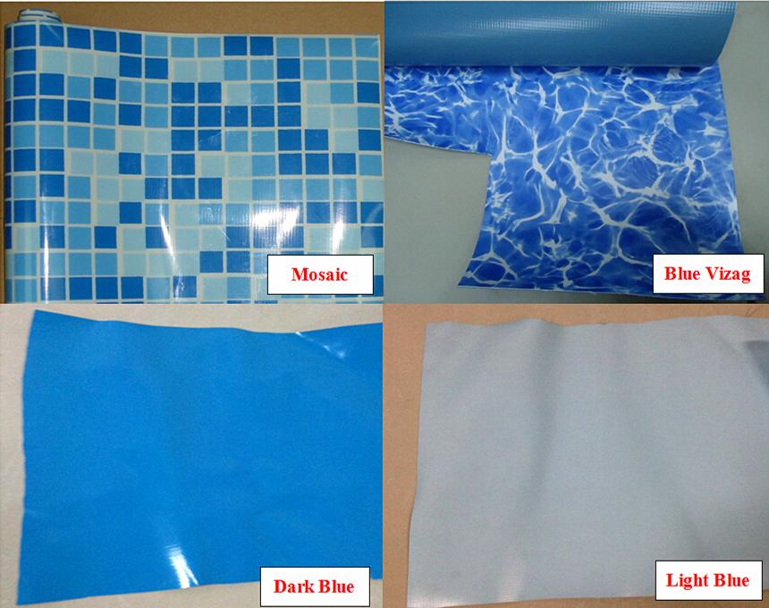dbde2ddf Personalización 2mm material de pvc patrón funda de la piscina para piscinas  liner