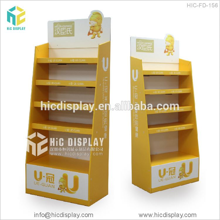 HIC fruit juice display stand, Water filters display stand
