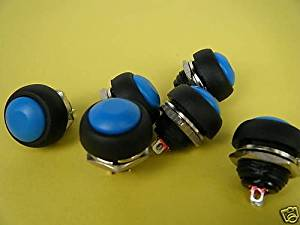 HOT SALE!!! BARGAIN PRICE!!! 1pc Waterproof Momentary OFF-(ON) HORN BOAT Switch,B33B in Business