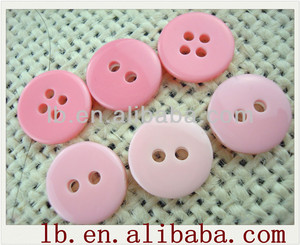 2017 new fashion design,round/square,2/4-hole/shank,white/black/yellow/red/blue...colorful pink resin buttons for garments
