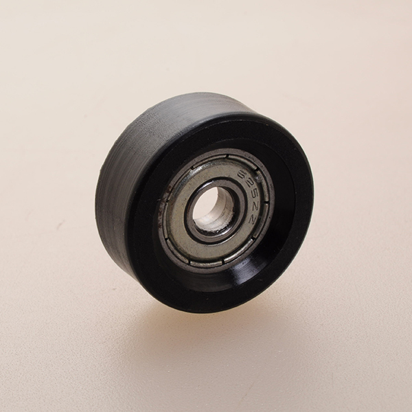 stainless steel loose ball bearing roller with bearing and teflon