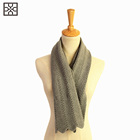 19ss new fashion 100 modal knitted acrylic jewelry custom winter scarf and shawl women