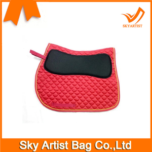 Manufacture custom horse racing saddle pads