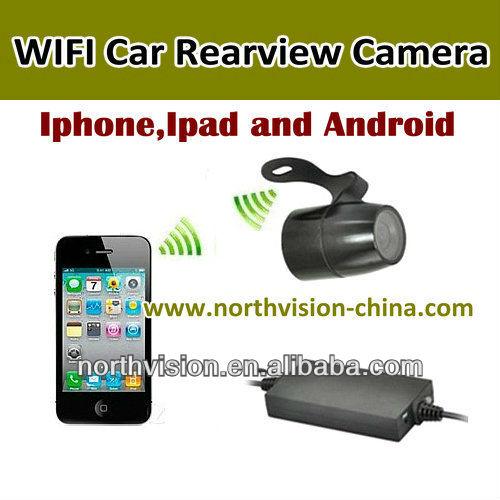 tanche wifi cam ra de recul avec soutien android iphone tablette regarde bo te noire d 39 auto. Black Bedroom Furniture Sets. Home Design Ideas