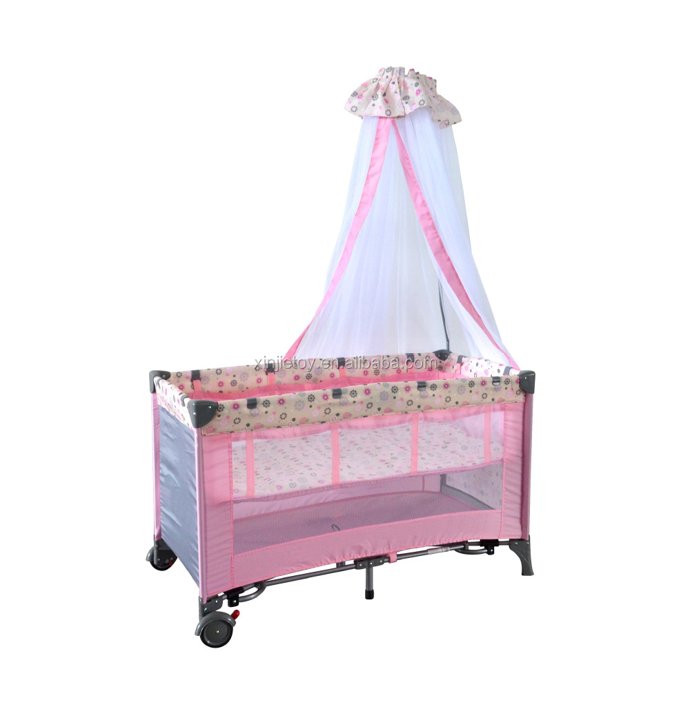 Baby Cot Bed With Luxury Mosquito Net/folding Baby Bed/baby ... for Folding Mosquito Net For Baby  287fsj