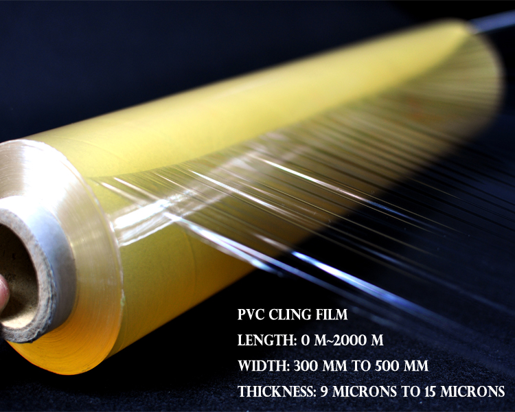 Fresh Warp Pe Cling Film Jumbo Roll Stretch Film Casting Pvc Film ...