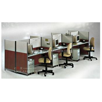 Partition Furniture Design Aluminum Frame Office Workstation