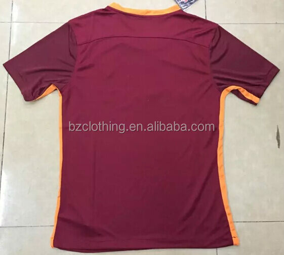 2015-2016 Roma Best Thailand Quality Soccer Jerseys