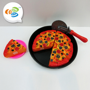 new design kids pretend play pizza strawberry cake toy for selling