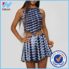 China online shopping girls dress girls without clothes two piece set