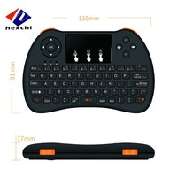 Multifunction air fly mouse H9 2.4G Infrared Remote Control Android TV Box