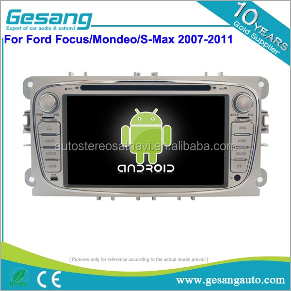 auto audio system For ford focus car gps navigation with dvd player