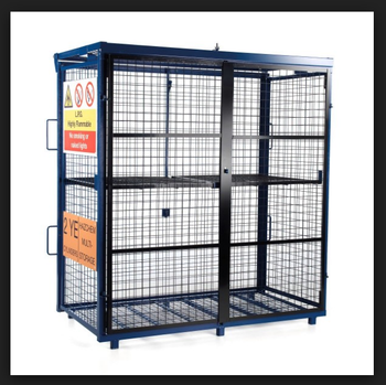 couleur claire de haute qualit de stockage de gaz cages cage pour bouteille de gaz gaz propane. Black Bedroom Furniture Sets. Home Design Ideas