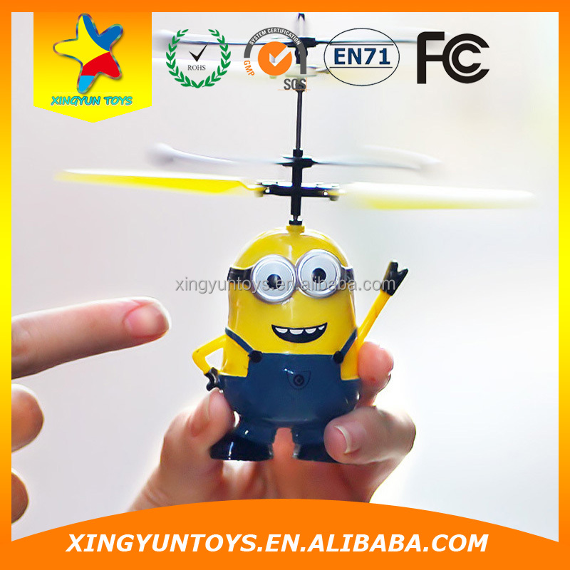 Newest toys Flying Robort XY082 infrared induction flying minion for sale