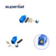 Blue Fakra Female connector for GPS GSM antenna