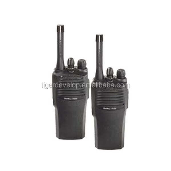 Single band tragbare vhf/uhf beste walkie talkie CP200 radio für motorola