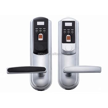 Fingerprint Electronic Biometric Password Handle Door Lock, View ...
