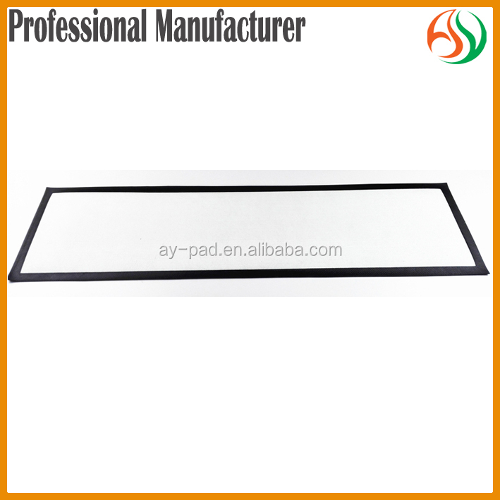 AY Wholesale Rubber Bar Mat Professional Beer Mat Manufacturer Blank Bar Runner For Sublimation Printing