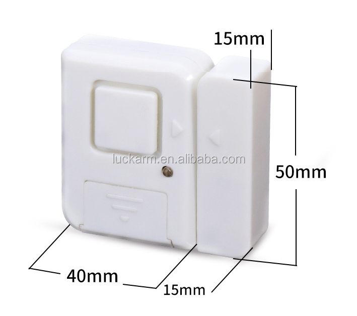 Doors or windows entry alarm magnetic sensor anti-theft door safety home security alarm 107