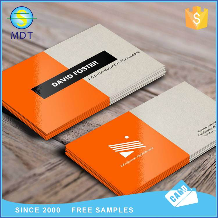 Printed Full Color Spot Uv Embossed Business Cards Plastic Pvc ...