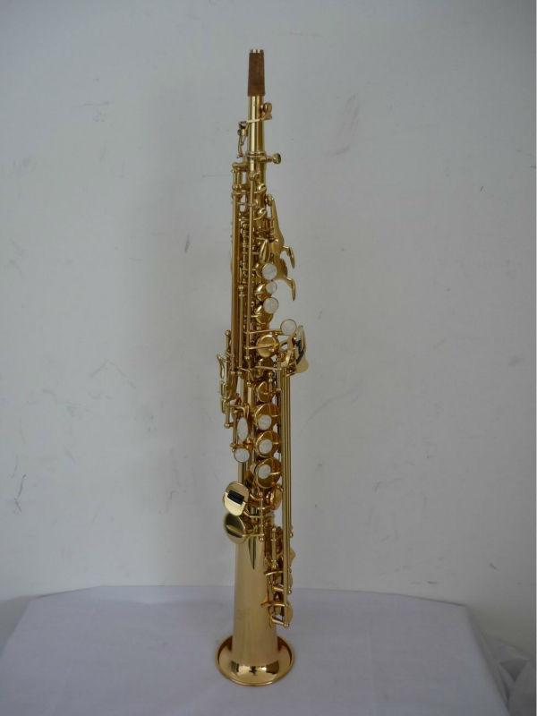 Copy Famous Brand Soprano Saxophone,Straight Soprano Saxophone - Buy  Professional Soprano Saxophone,Straight Saxophone,Saxophone Product on