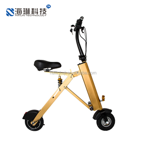 KUKU mini electric bike foldable ebike folding electric scooter bike