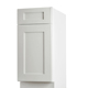 Cheap MDF fiber kitchen wall hanging cabinet and base cabinet