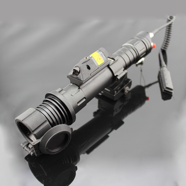 Long distance aimed/green Laser scope and red dot laser combo