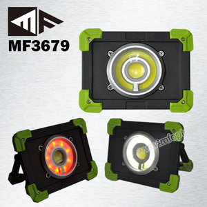 20w Two Bulb Cob Portable work light Led Outdoor Flood Light