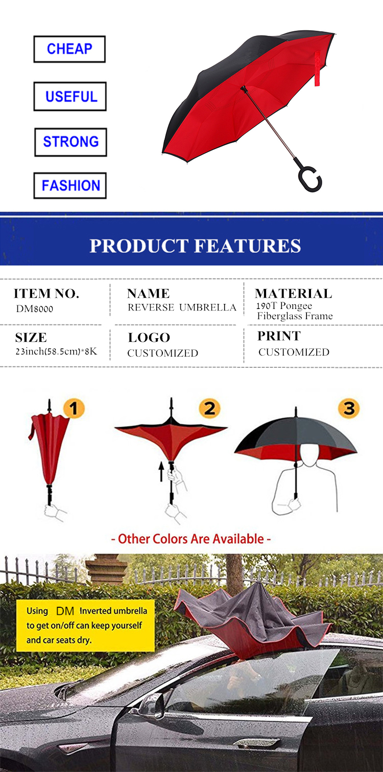Travel Kazbrella Inverted Umbrella