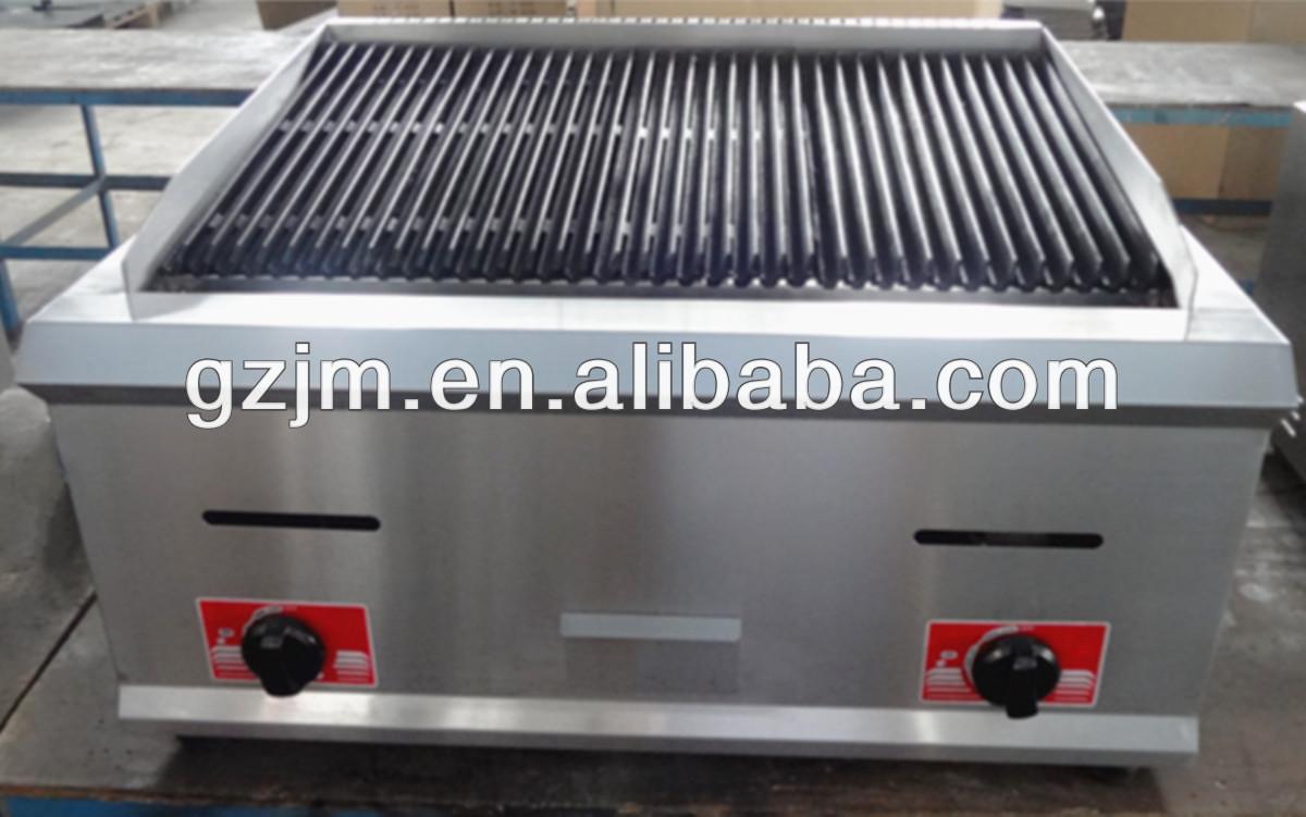 contatore elettrico rocce di lava griglia per la cucina professionale roccia lavica gas grill