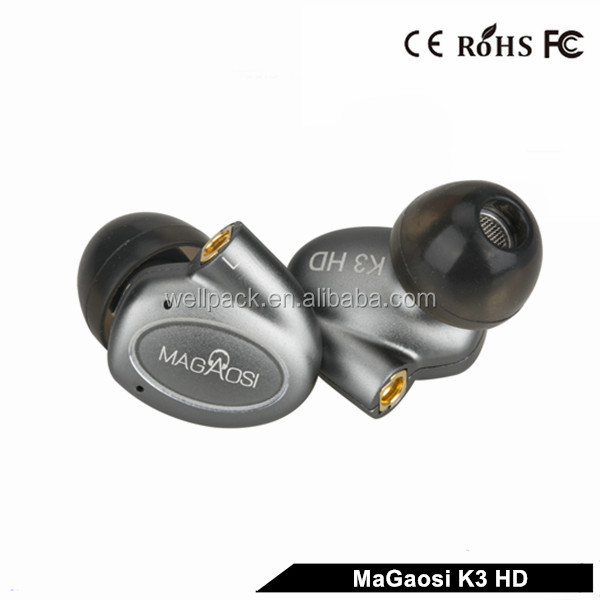 HiLisening Detachable MMCX wires BA armatures plus dynamic driver Hybrid Sport Headphones earphone for <strong>bluetooth</strong>