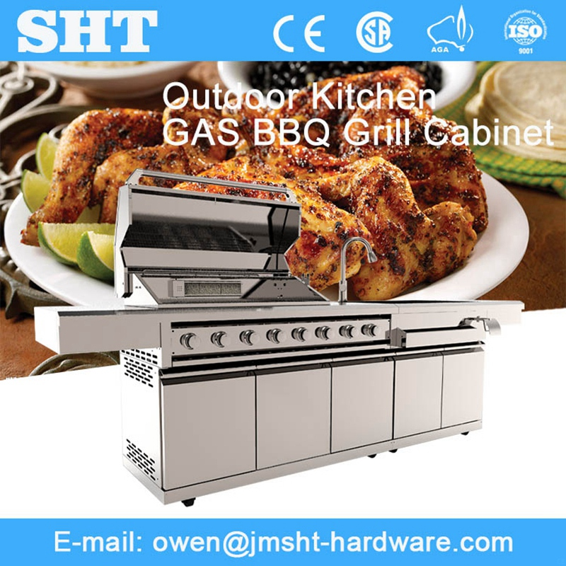 High Quality Alibaba China Stainless Metal Single Use Gas Barbecue Grill