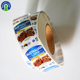 Custom Adhesive Label Paper Sticker Sheet Meat Packaging Canned Food Labels