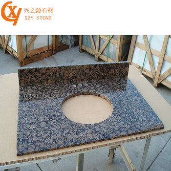 Brown Granite Hotel Banjo Vanity Tops