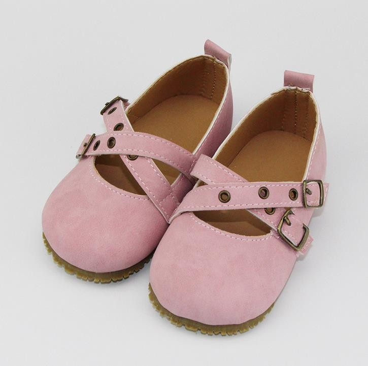 pink mary jane kids hard sole shoes shoes