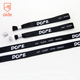 AIDE Disposable Plastic Lock Heat Transfer Printing Ribbon Cloth Festival Wristbands With Plastic Button